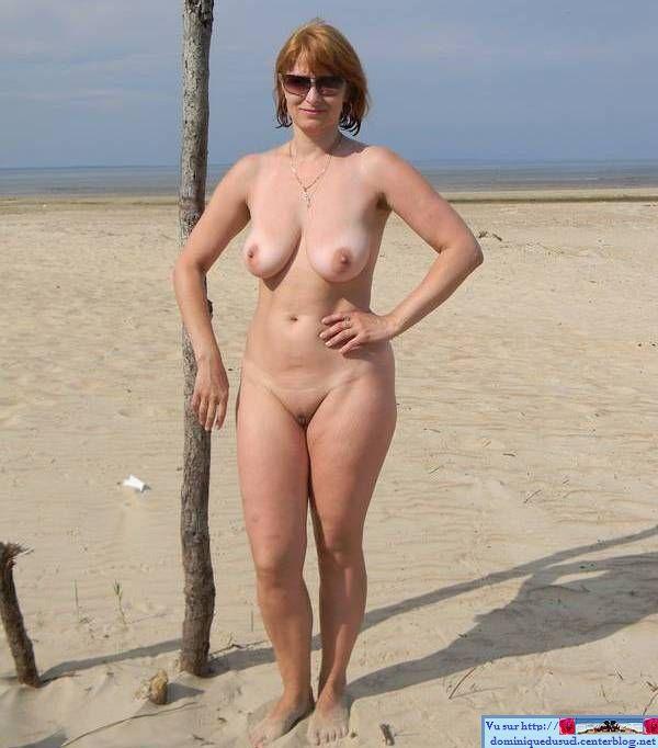 голые зрелые дамы на пляже фото