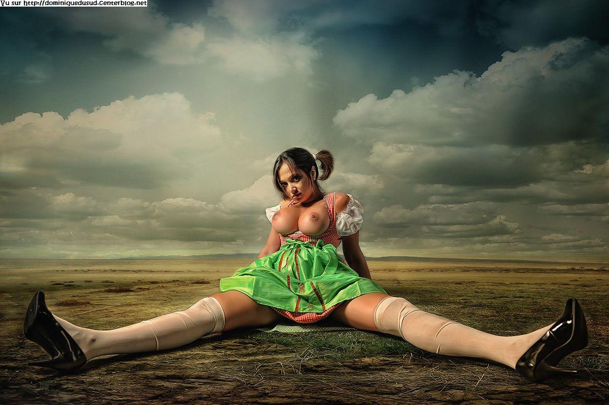 Сказочная голая девушка 15 фотография